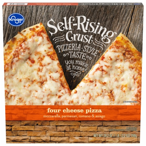 Kroger® Self Rising Crust Four Cheese Pizza Perspective: front