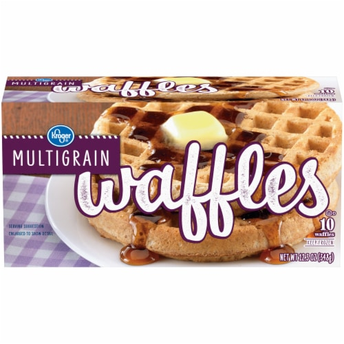 Kroger® Multigrain Waffles Perspective: front