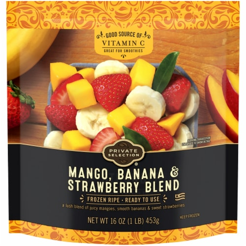 Private Selection® Mango Banana & Strawberry Blend Perspective: front