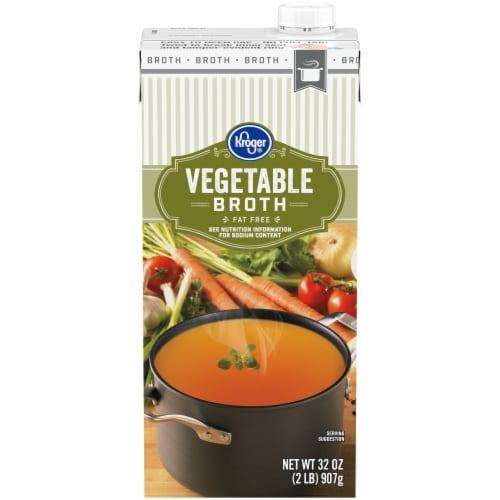 Kroger® Vegetable Broth Perspective: front