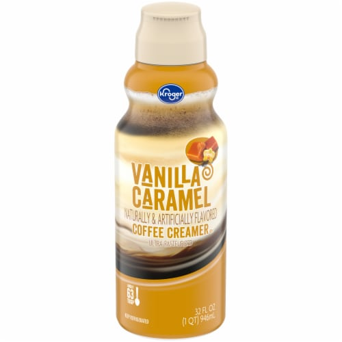 Kroger® Vanilla Caramel Coffee Creamer Perspective: front