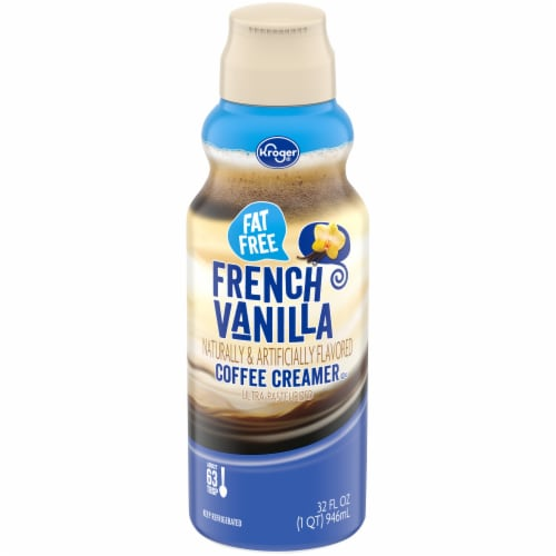 Kroger® Fat Free French Vanilla Coffee Creamer Perspective: front