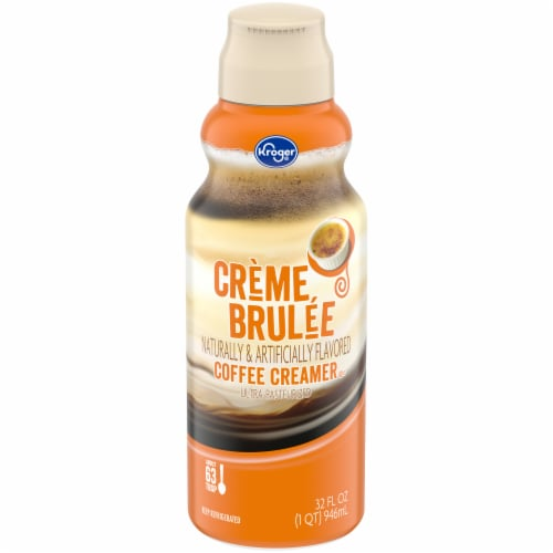 Kroger® Creme Brulee Coffee Creamer Perspective: front