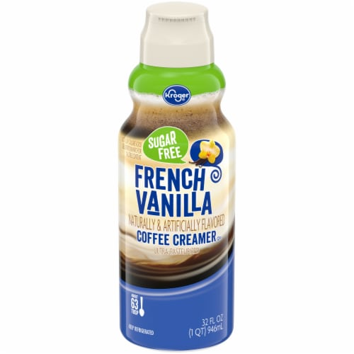 Kroger® Sugar Free French Vanilla Coffee Creamer Perspective: front