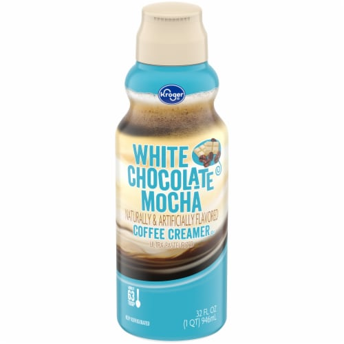 Kroger® White Chocolate Mocha Coffee Creamer Perspective: front