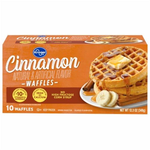 Kroger® Cinnamon Waffles Perspective: front
