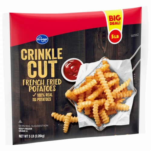 Kroger® Crinkle Cut Fries Perspective: front