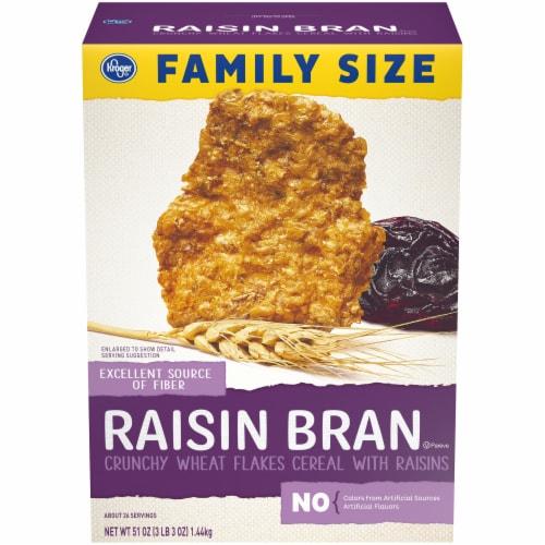 Kroger® Raisin Bran Crunchy Cereal Perspective: front