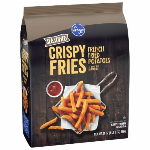Kroger® Seasoned Crispy Fries Perspective: front