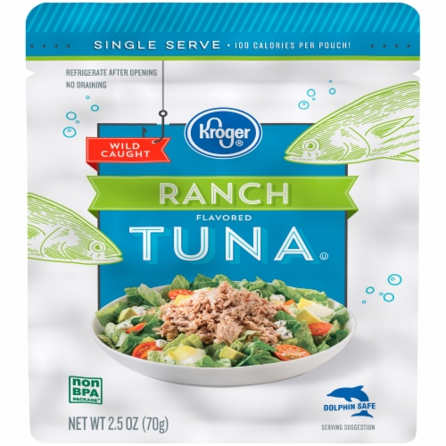 Kroger® Ranch Flavored Tuna Perspective: front