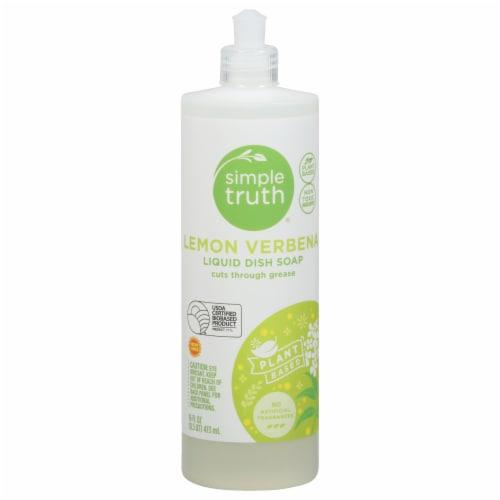 Simple Truth® Lemon Verbena Liquid Dish Soap Perspective: front