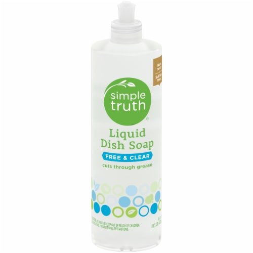 Simple Truth® Free & Clear Liquid Dish Soap Perspective: front