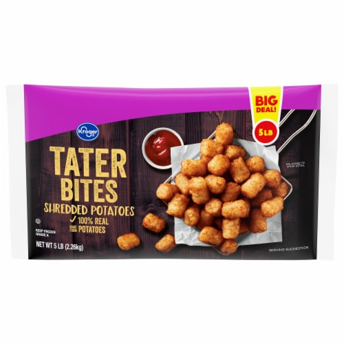 Kroger® Tater Bites Shredded Potatoes Perspective: front