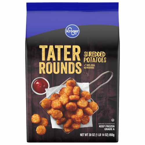 Kroger® Tater Rounds Shredded Potatoes Perspective: front