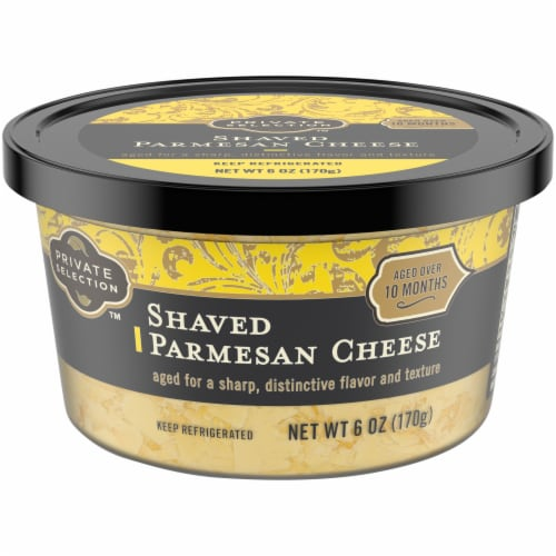 Private Selection Shaved Parmesan Cheese Perspective: front