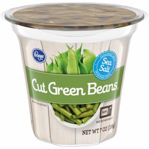 Kroger® Cut Green Beans Perspective: front