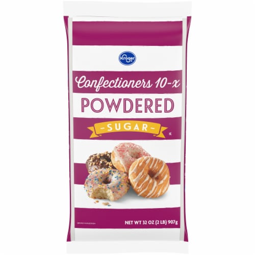 Kroger Powdered Sugar Perspective: front