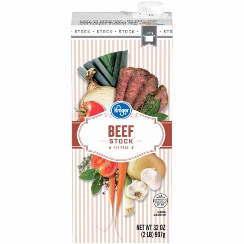 Kroger® Beef Stock Perspective: front