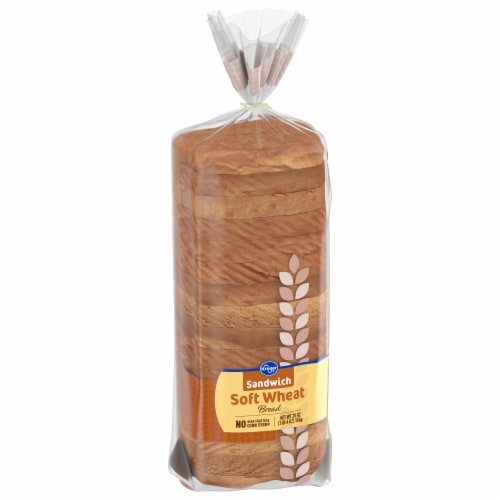 Kroger® Wheat Sandwich Bread Perspective: front