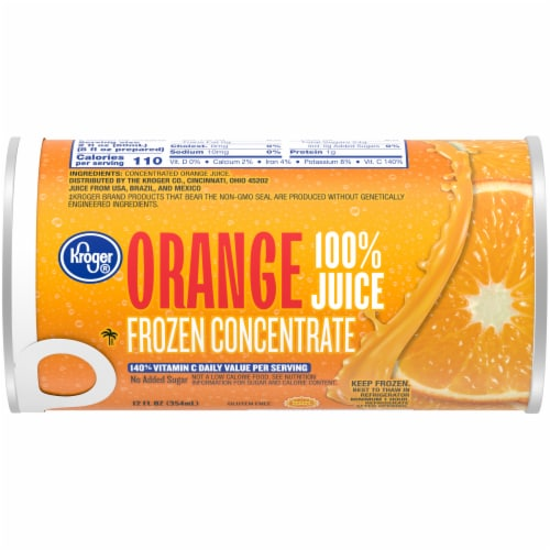 Kroger® Frozen Orange Juice Concentrate Perspective: front