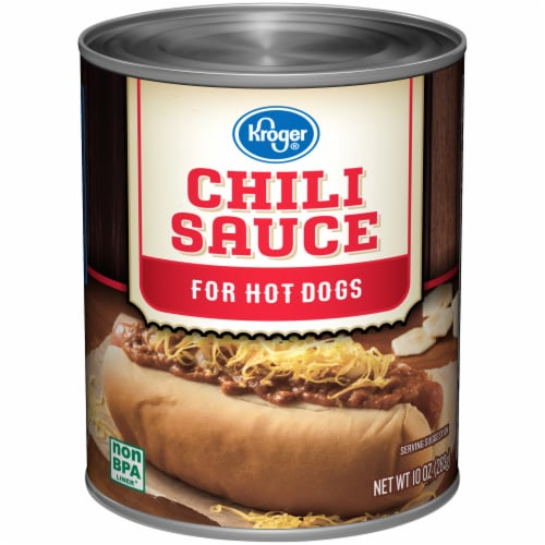 Kroger®  Hot Dog Chili Sauce Perspective: front