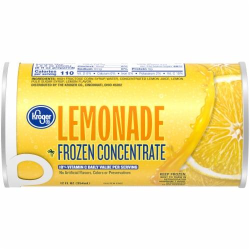 Kroger® Frozen Lemonade Concentrate Perspective: front