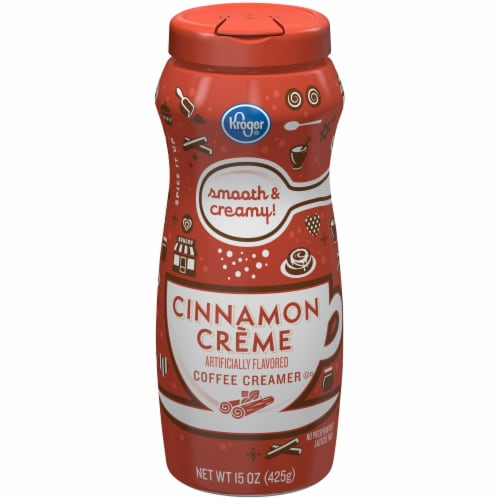 Kroger® Non-Dairy Cinnamon Creme Coffee Creamer Perspective: front