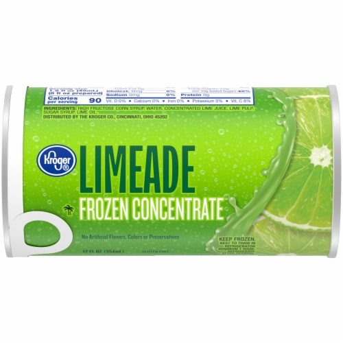 Kroger® Frozen Limeade Concentrate Perspective: front