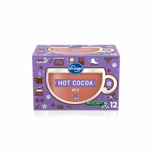 Kroger® Milk Chocolate Hot Cocoa K-Cup® Pods Perspective: front