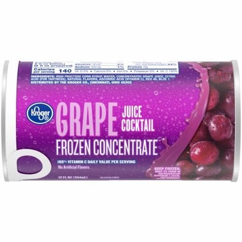 Kroger® Frozen Grape Juice Concentrate Perspective: front