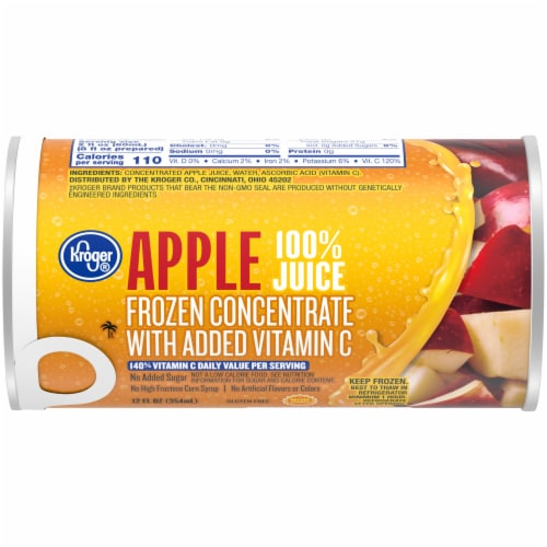 Kroger® Frozen 100% Apple Juice Concentrate Perspective: front