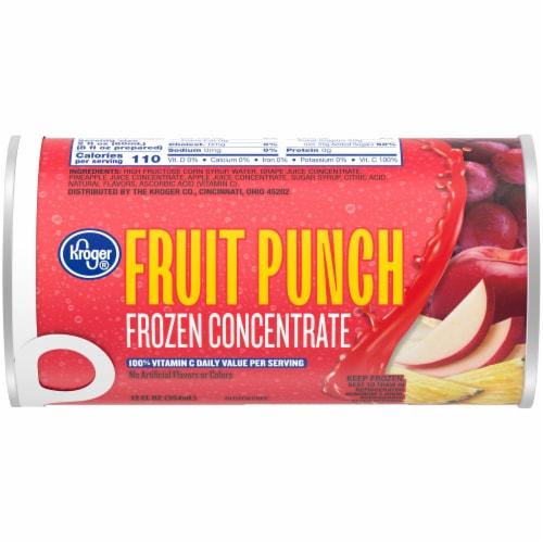Kroger® Frozen Fruit Punch Concentrate Perspective: front
