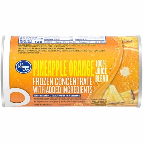 Kroger® Frozen Pineapple Orange Juice Perspective: front