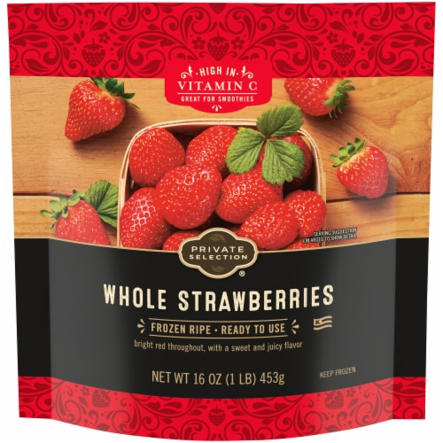 Private Selection® Whole Strawberries Perspective: front