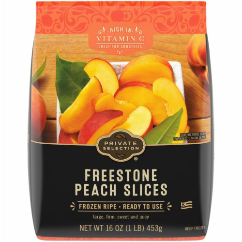 Private Selection™ Freestone Peach Slices Perspective: front