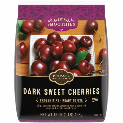 Private Selection® Dark Sweet Cherries Perspective: front