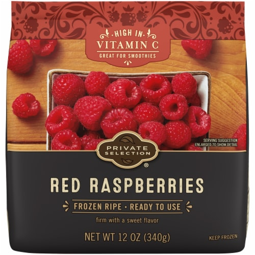 Private Selection® Red Raspberries Perspective: front