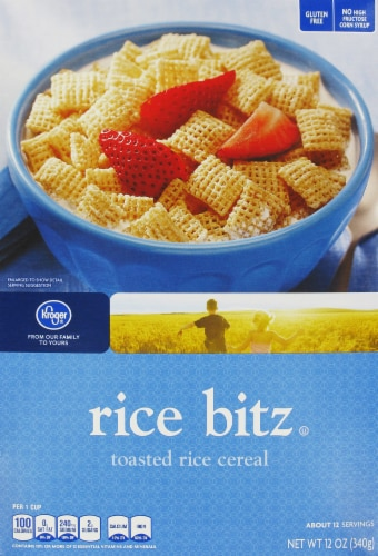 Kroger® Rice Bitz Cereal Perspective: front