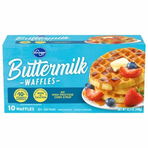 Kroger® Buttermilk Waffles Perspective: front
