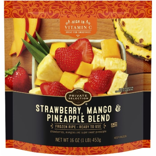 Private Selection® Strawberry Mango & Pineapple Blend Perspective: front