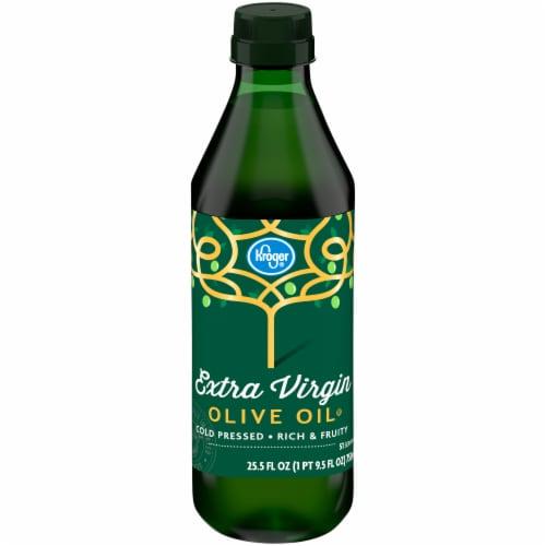 Kroger Extra Virgin Olive Oil Perspective: front