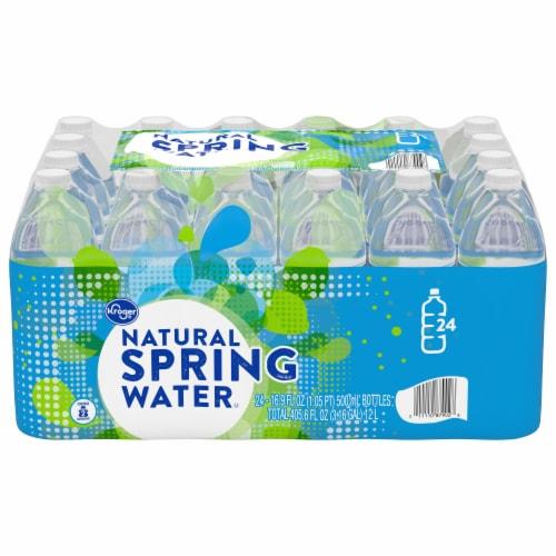 Kroger® Natural Spring Water Perspective: front