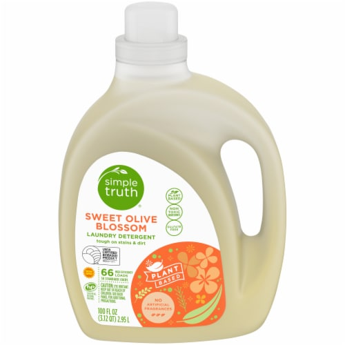Simple Truth® Sweet Olive Blossom Liquid Laundry Detergent Perspective: front