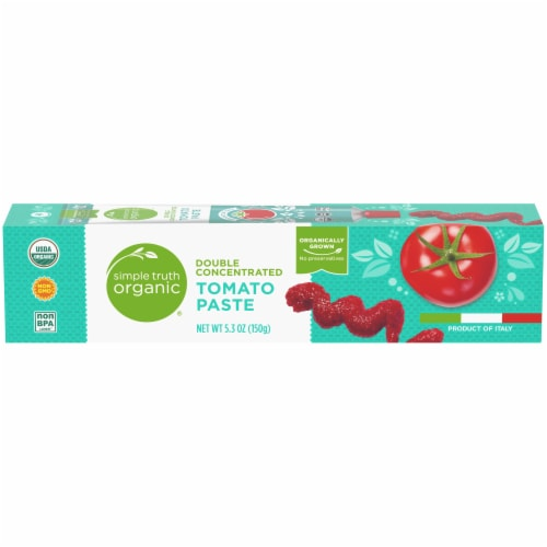 Simple Truth Organic™ Double Concentrated Tomato Paste Perspective: front