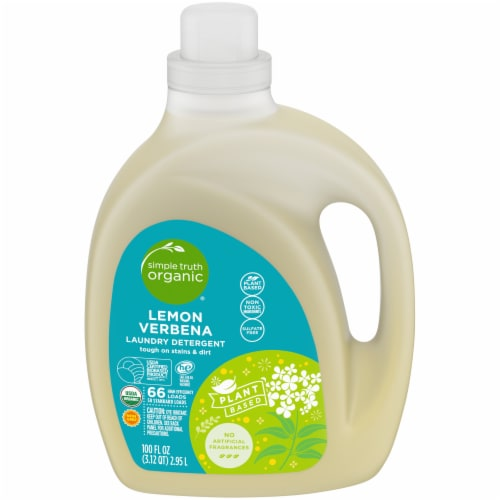 Simple Truth Organic® Lemon Verbena Liquid Laundry Detergent Perspective: front
