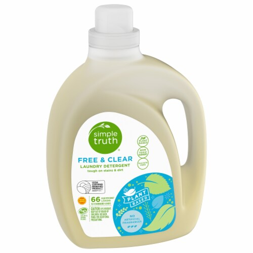 Simple Truth Organic® Free & Clear Liquid Laundry Detergent Perspective: front