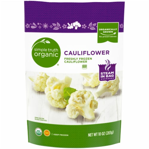 Simple Truth Organic® Frozen Cauliflower Perspective: front