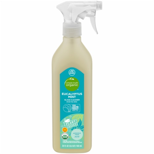 Simple Truth Organic® Eucalyptus Mint Glass Cleaner Perspective: front