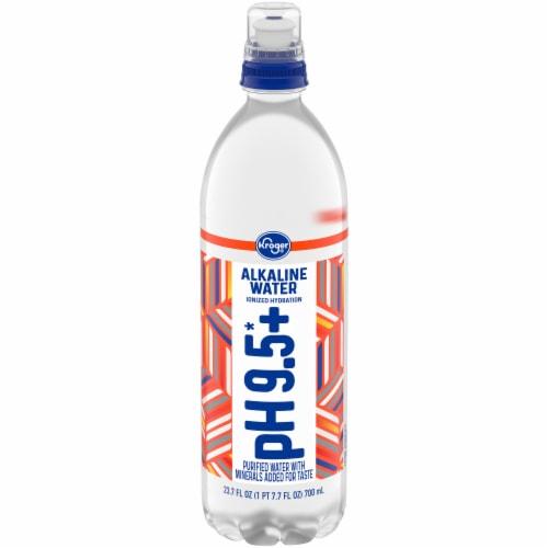 Kroger® pH 9.5+ Alkaline Water Perspective: front
