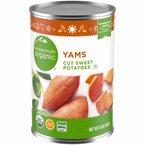 Simple Truth Organic™ Yams Perspective: front